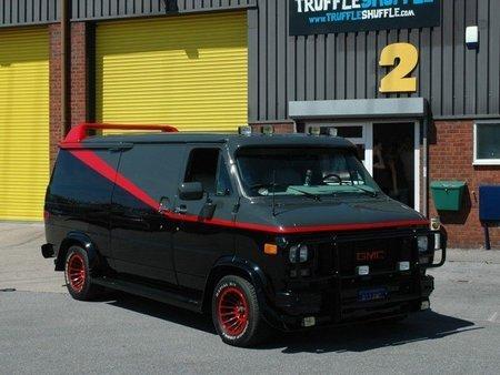 The A-Team's mobil van, van