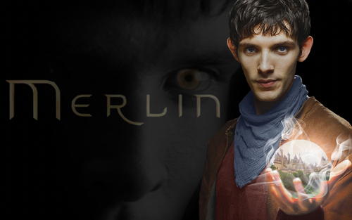 Merlin on BBC wallpaper entitled The Fate