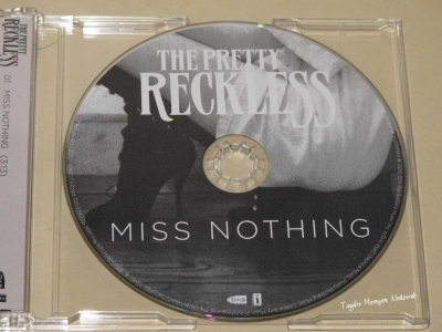 The Pretty Reckless > 'Miss Nothing' Single (Physical Booklet)
