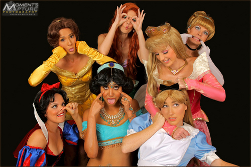 The Real Disney Princesses