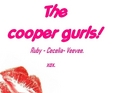 The cooper girls logo. (The girls we love to hate...)