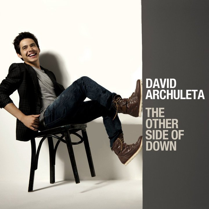 The maybe album art of The Other Side of Down سے طرف کی David Archuleta :)