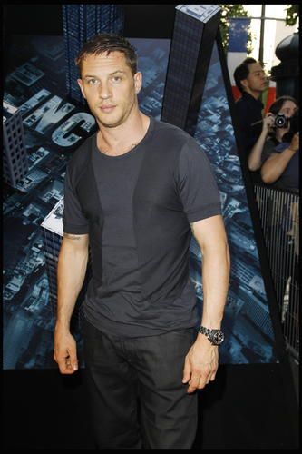 Tom Hardy at Inception Premier