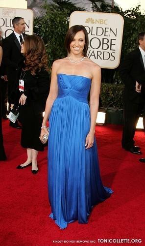Toni Collette @  Golden Globe Awards