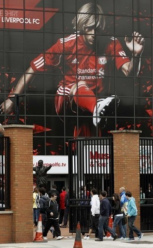 Torres's pic at Anfield