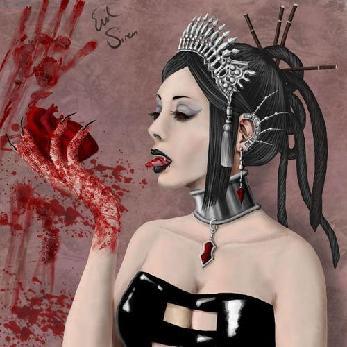 Vampires wallpaper titled Vampire Girl