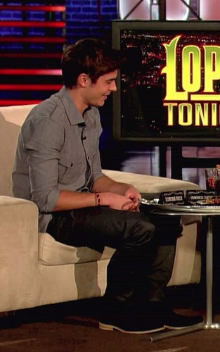 Zac on ''Lopez Tonight''