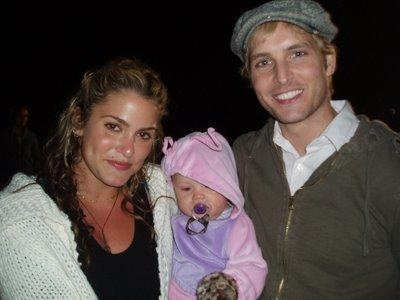 baby Renesmee with Carlisle and Rosalie