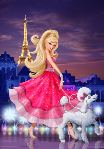 Barbie Movies wallpaper called barbie in a fashion fairy tale