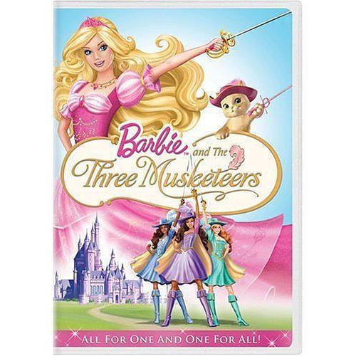 barbie three musketeers dvd