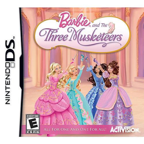 Barbie three musketeers game