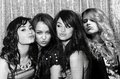 demi, miley, selena, taylor - disney-channel-girls photo