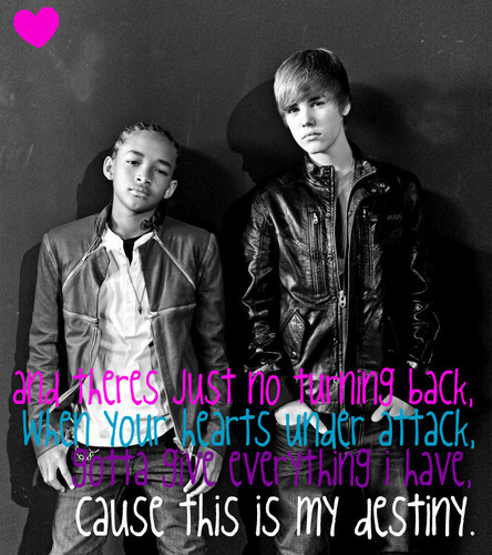justin bieber & jaden smith - never say never.