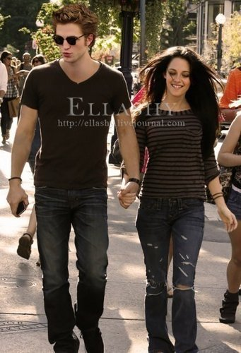rob with kristen