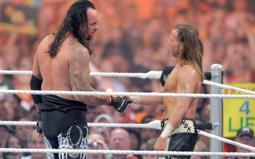 shawn michaels & undertaker
