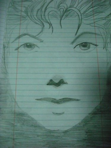 My sister's drawing of MJ