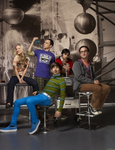 'The Big Bang Theory' Season 4 Promotional Photoshoot: Cast