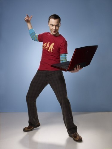 'The Big Bang Theory' Season 4 Promotional Photoshoot: Sheldon