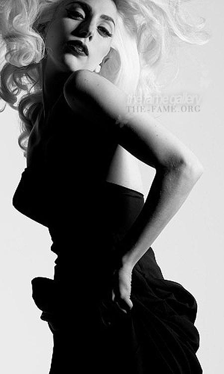 2009 Nick Knight Photoshoot - Lady GaGa 450x750