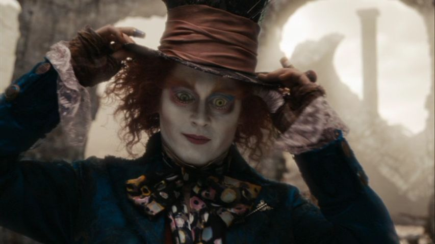 Johnny Depp Alice In Wonderland Pictures. Alice In Wonderland Screencaps