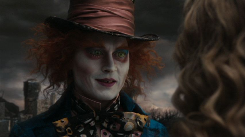 Johnny Depp Alice