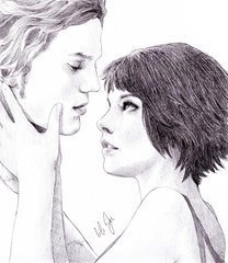 Alice and Jasper - drawing