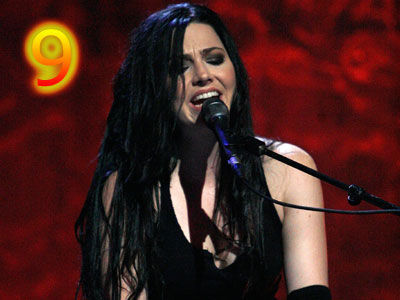 Пение Обои called Amy Lee Live (Evanescence)