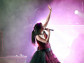 Amy Lee Live (Evanescence) - singing photo