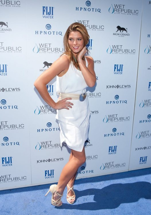 Ashley Greene at Wet Republic in Las Vegas