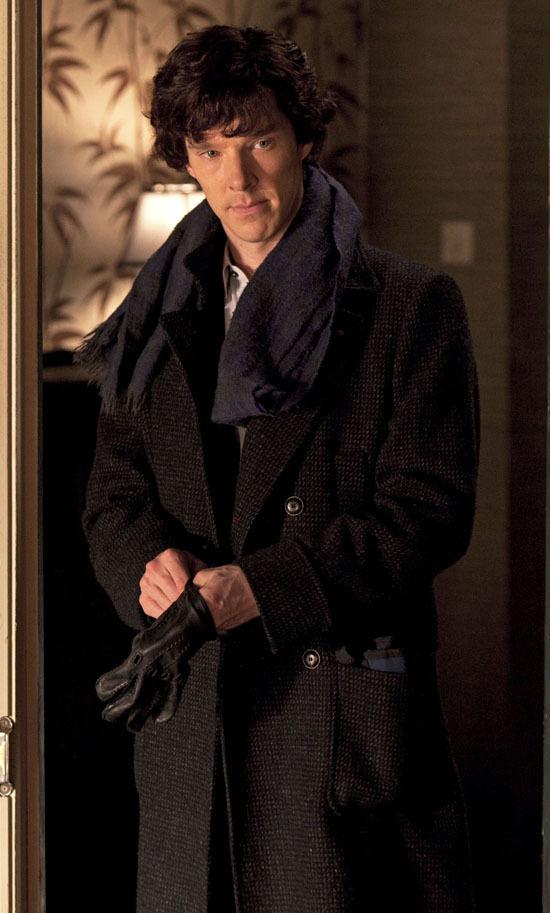 Benedict in 'Sherlock'... Benedict Cumberbatch Sherlock