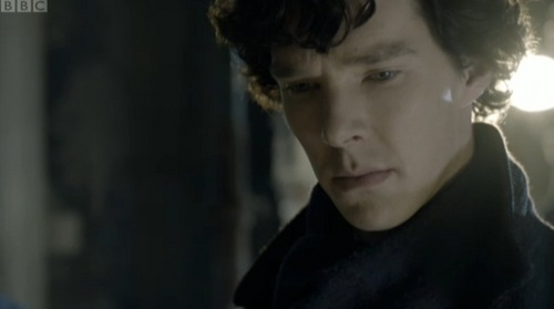 Benedict Cumberbatch wallpaper titled Benedict in 'Sherlock'