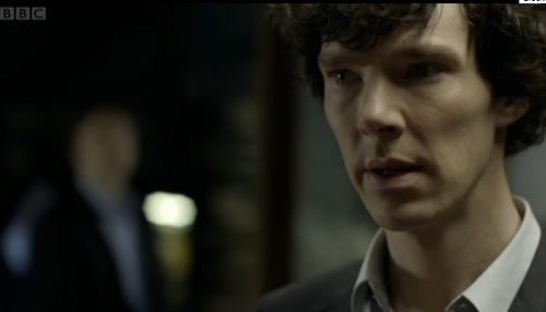 Benedict in 'Sherlock'