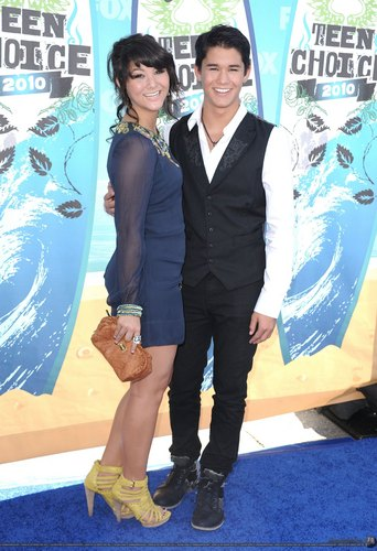 BooBoo Stewart at Teen Choice Awards 2010.