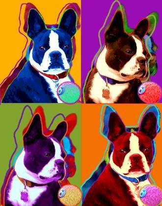 Boston Terriers Images Art 3 Wallpaper And Background Photos