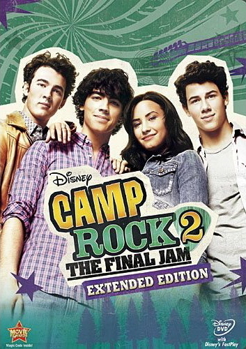 Camp Rock 2: The Final siksikan - Extended Edition (Official DVD Cover)