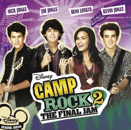 Camp Rock 2: The Final जाम Soundtrack - International Edition (Official Album Cover)