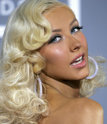Christina Aguilera at the grammys !!2007