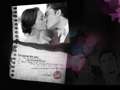 Blair & Chuck wallpaper called Chuck && Blair <3