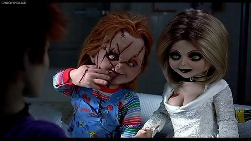Chucky wallpaper entitled Chucky and Tiffany