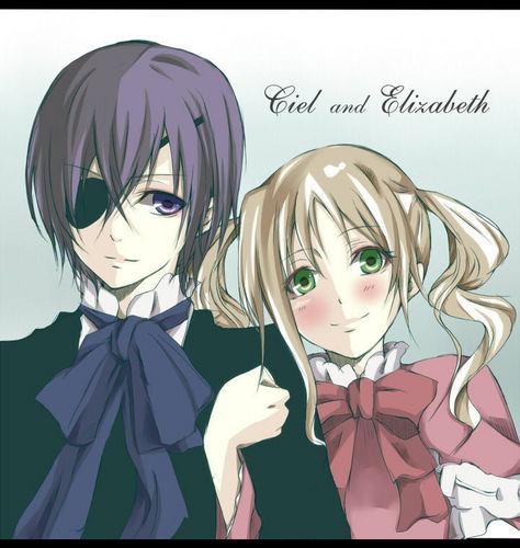Ciel and Elizabeth