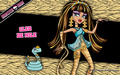 Cleo De Nile - monster-high wallpaper