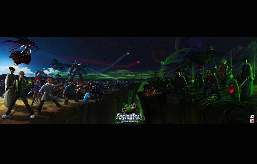 Cool fusionfall wallpaper - cartoon-network-fusionfall Photo