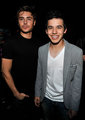 David Archuleta with Zac Efron :)