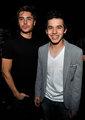 David Archuleta with Zac Efron :)