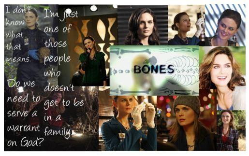 "Dr. Temperance ""Bones"" Brennan"