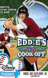 Disney Channel Original Movies wallpaper called Eddie's Million Dollar Cook-Off movie poster