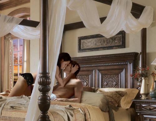 Edward & Bella Isle Esme... Bed!