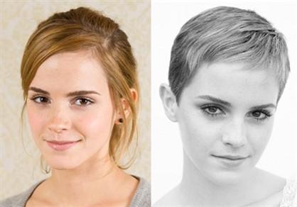 Emma Watson - New haircut