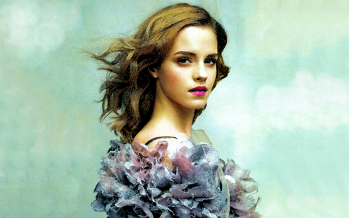 Hermione Granger wolpeyper titled Emma Watson aka Hermione Granger