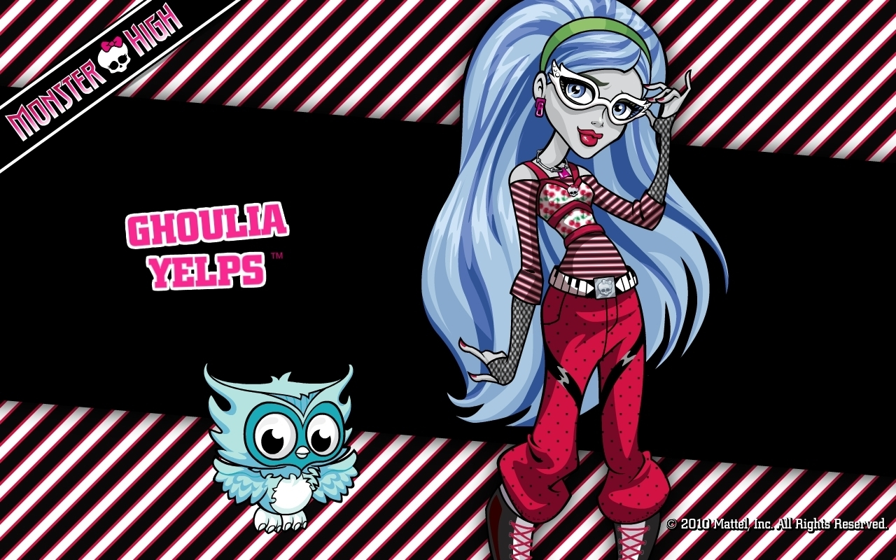 Monster high images ghoulia yelps hd wallpaper and background photos 14502928 - Image monster high ...